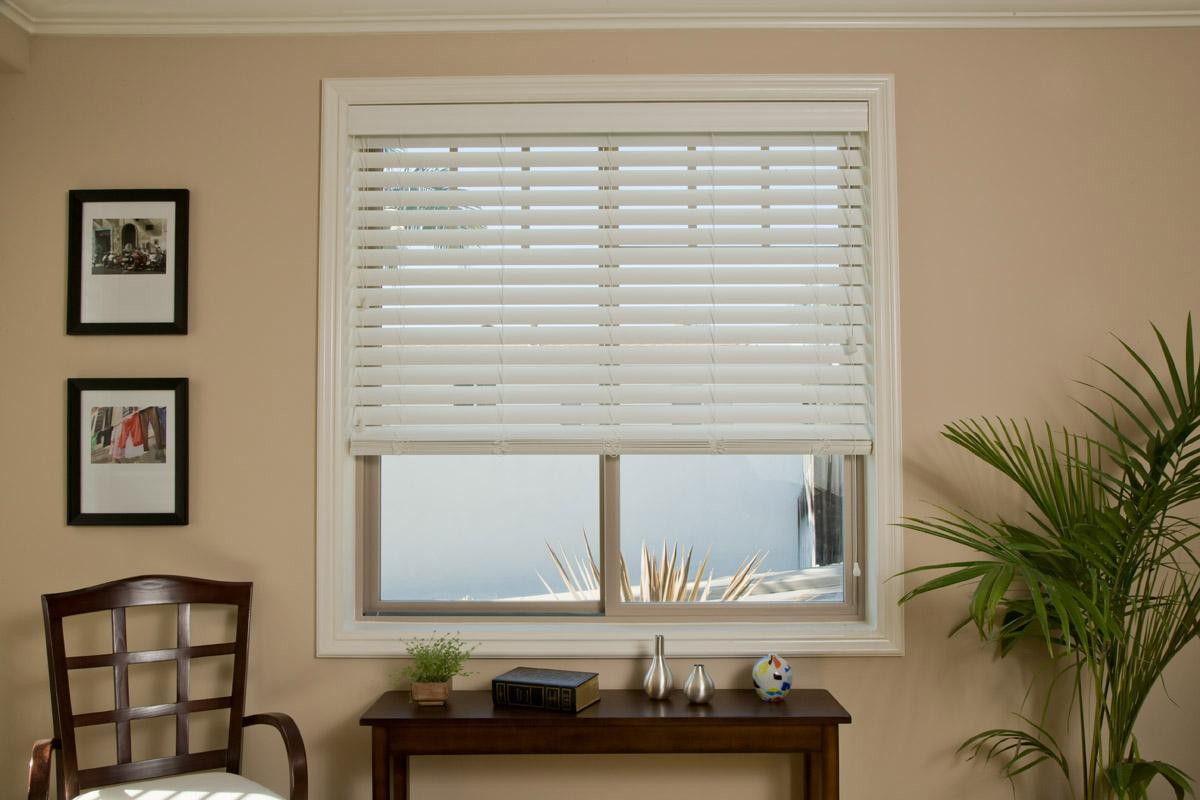 Faux Wood Window Blinds